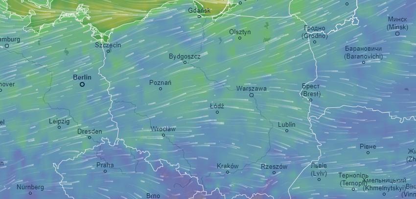 Niestety, cyklon Fabian sunie nad Polskę. Na dzisiaj ogłoszono alert dla północy i południa Polski