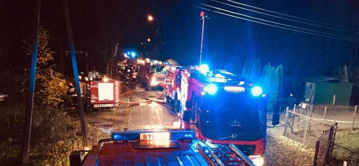 Eksplozja na południu Polski. Są ranni, trwa przeszukiwanie gruzów