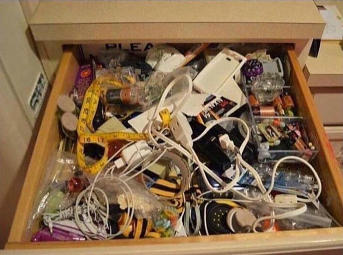 Każdy ma taką szufladę, prawda?