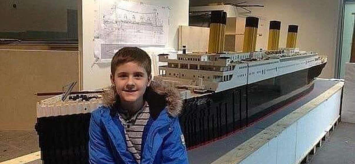 12-latek z autyzmem zbudował Titanica z Lego. Jak go oceniasz w skali od 1 do 10?