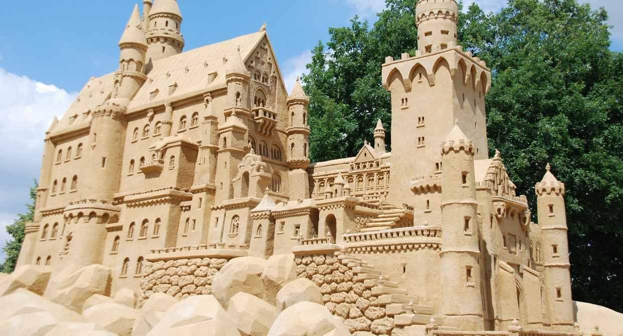 Dacie wiarę, że to wszystko zrobione jest z piasku?