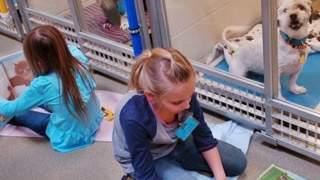 Dzieci czytają książki psom w schronisku. Niesamowity powód, ciężko powstrzymać łzy