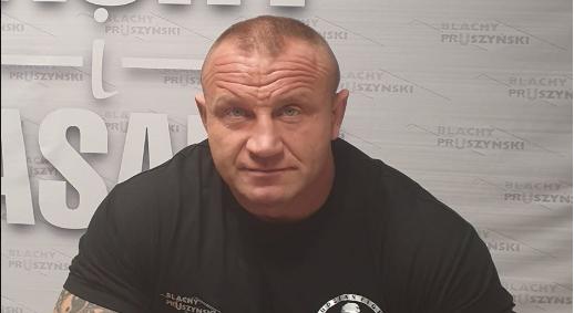 Mariusz Pudzianowski poinformował o wypadku