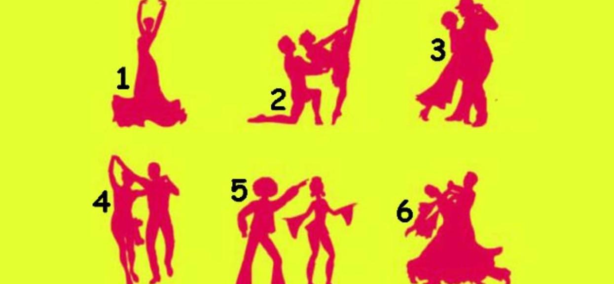 Wybierz jedną z tańczących par i poznaj prawdę o sobie. Odpowiedź ujawnia twoje ukryte pragnienia