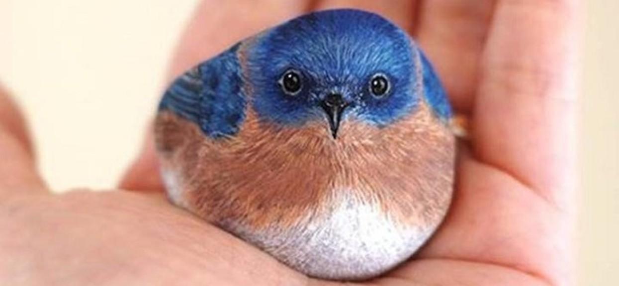 Wszyscy myślą, że widzą małego ptaszka na dłoni. Po odkryciu prawdy można zbierać szczękę z podłogi