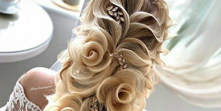 Fryzjer ma genialne zdolności, idealna fryzura na ślub