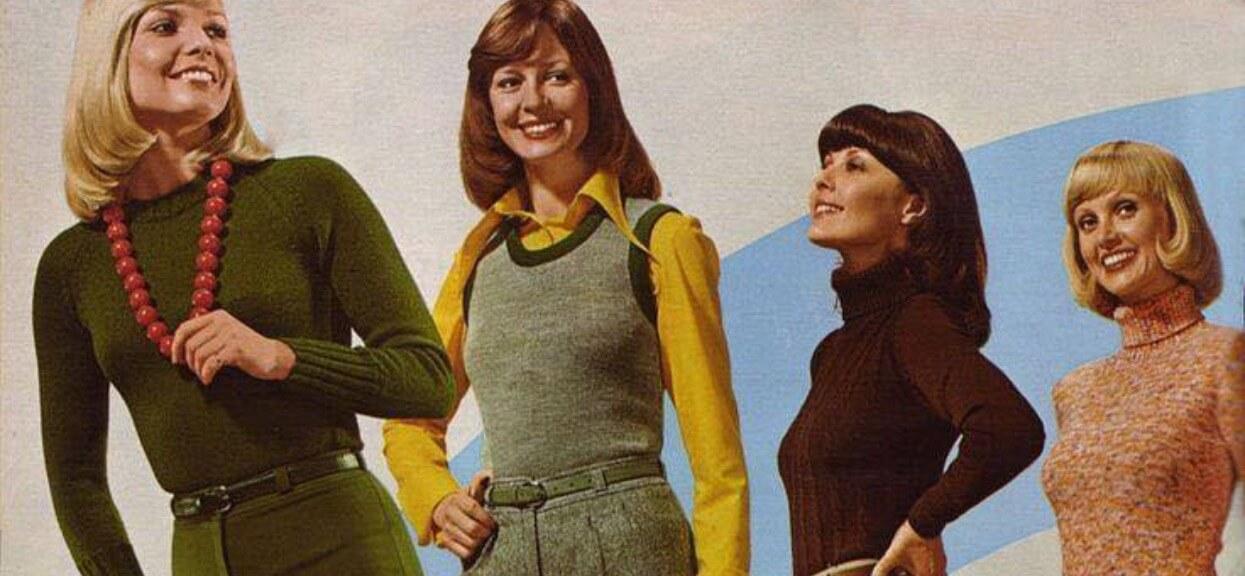 Moda lat 70. miała w sobie czar, jakiego współczesne kreacje nie mają