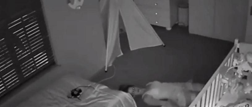 Kamera uchwyciła, co mama robiła sam na sam z noworodkiem. Mąż zobaczył film i błyskawicznie zareagował, prawda okazała się powalająca