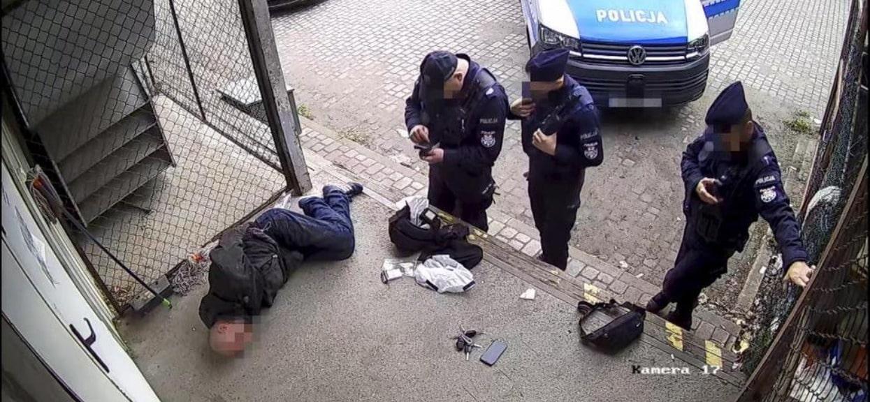 Interwencja policji zakończyła się w najgorszy sposób. Nagranie tylko dla osób o mocnych nerwach
