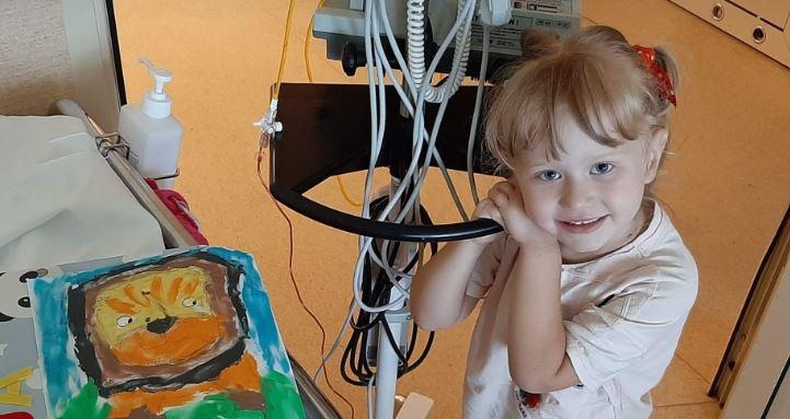 Każdego może spotkać, 4-letnią Maję zabolały jedynie nogi. Diagnoza była druzgocąca