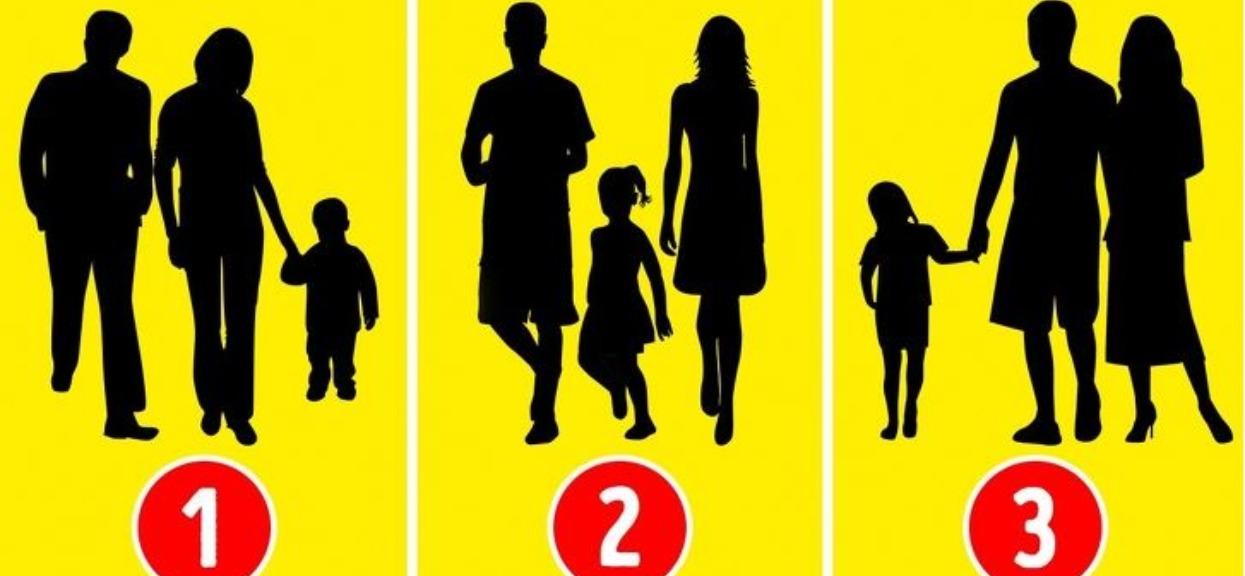 Który z tych obrazków nie przedstawia rodziny? Odpowiedź pokazuje prawdę o tobie, nie ujawniaj jej innym
