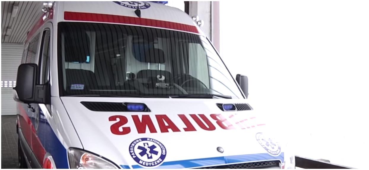 Wstrząs w dużym polskim mieście. Pacjent z podejrzeniem zakażenia wyskoczył przez okno szpitala