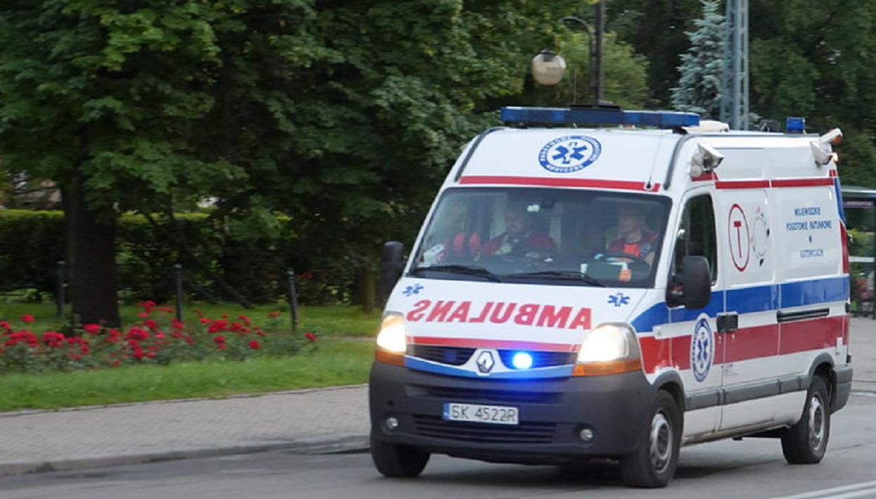 Tragedia na zachodzie Polski. Ojciec nie żyje, mama i dzieci walczą o życie