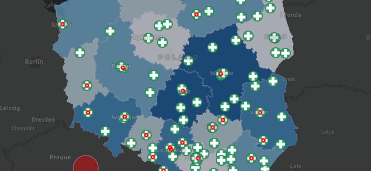 Koronawirus w Polsce: powstała specjalna mapa, każdy powinien się z nią zapoznać