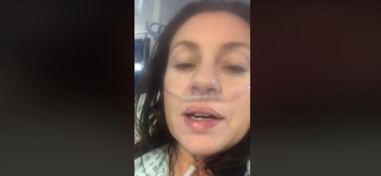 Zarażona koronawirusem 39-latka bije na alarm. Każdy powinien wziąć jej słowa do serca, przejmujące nagranie