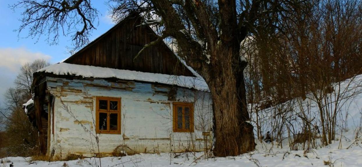 Zdjęcie opuszczonego domu