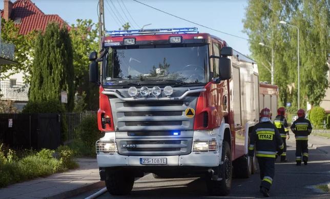Tragiczny pożar w polskim mieście. Są ofiary śmiertelne, dramatyczna akcja ratunkowa