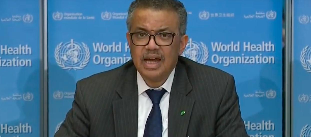 Szef WHO wydał oświadczenie o sytuacji w Europie. Już nie ma złudzeń