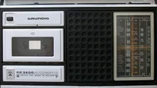 Radiomagnetofon Grundig, kiedyś marzenie wszystkich nastolatków. Pamiętacie?