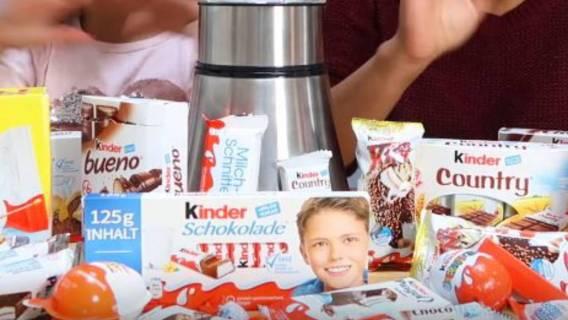 Chłopiec z opakowania Kinder czekolady