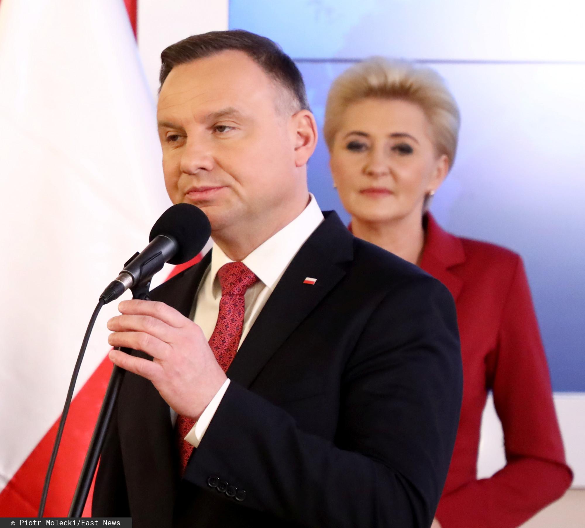 Wyjątkowo smutne święta pary prezydenckiej. Andrzej Duda przekazał smutną wiadomość