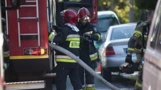Okropne informacje, kłęby dymu w centrum Polski. Trwa dramatyczna akcja 26 zastępów straży pożarnej
