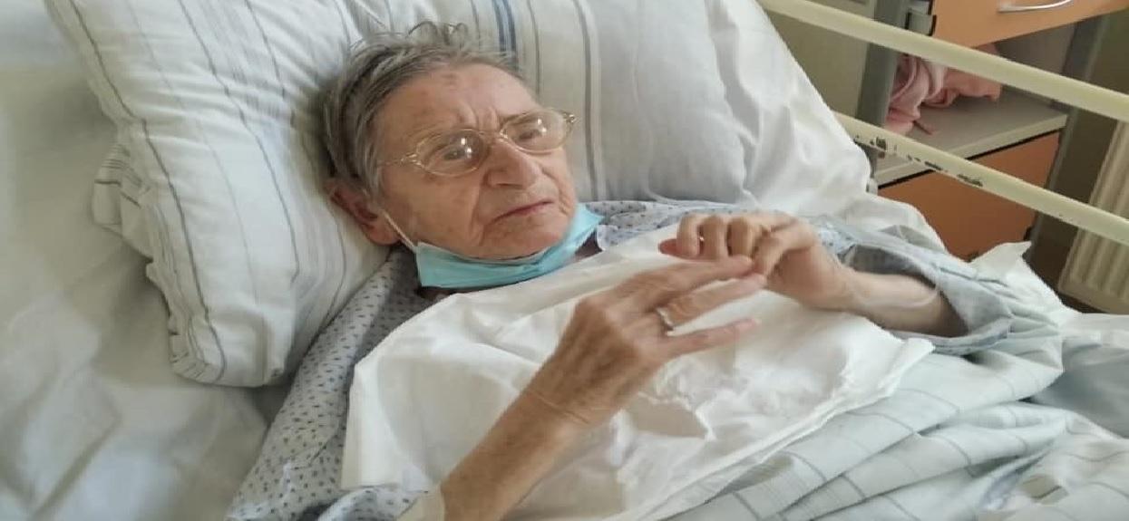 Pani Teresa ma 103 lata, jest najstarszą osobą w Polsce, która wyzdrowiała z COVID-19