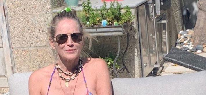 Sharon Stone w bikini. Jak prezentuje się aktorka?