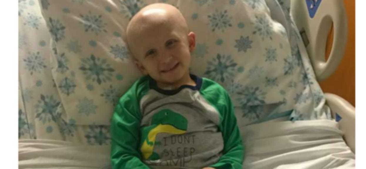 Chłopiec nowotwor
