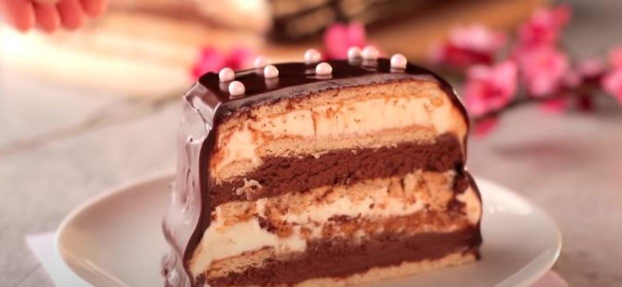Ciasto bez pieczenia powala swoim smakiem