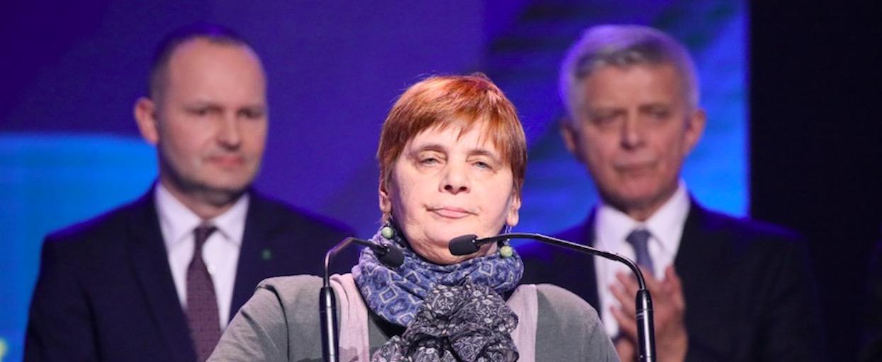 Janina Ochojska pokonała raka piersi. Agata Młynarska podziękowała jej za ważną rzecz