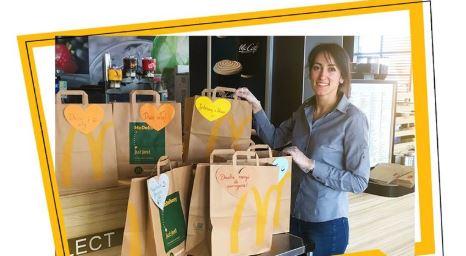 Ponad 70 tys. darmowych, ciepłych posiłków od McDonald's przekazano dla służby zdrowia