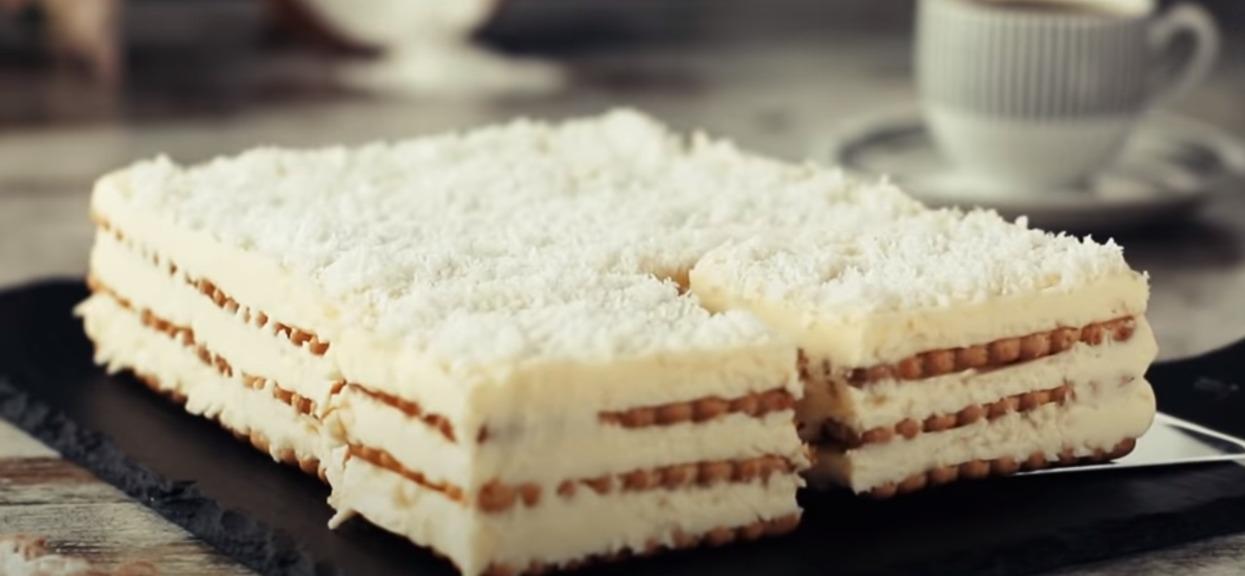 Ciasto bez pieczenia w 20 minut