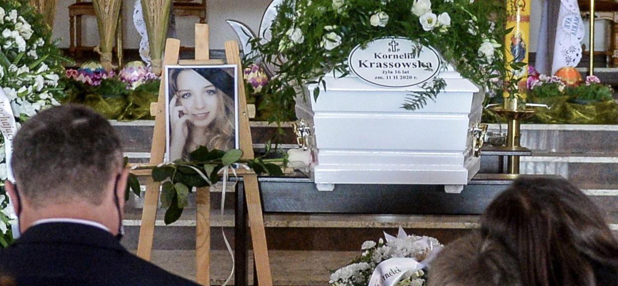 Pogrzeb 16-letniej Kornelii