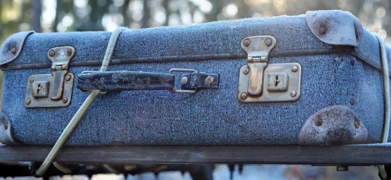 W lesie znaleźli porzuconą walizkę, gdy zajrzeli do środka, zamarli z przerażenia. Widok, który zapamiętają do końca życia