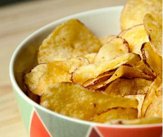 Ziemniaki - frytki z mikrofalówki