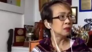 Widzowie przecierali oczy ze zdumienia. Kobieta występująca w programie na żywo nie wdziała, co dzieje się za jej plecami