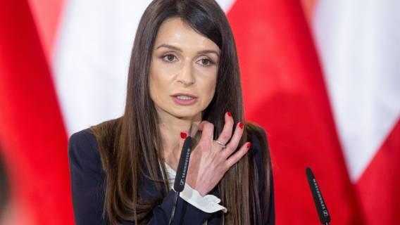 Marta Kaczyńska wpadka