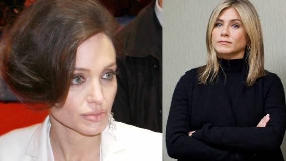 Angelina Jolie i Jennifer Aniston