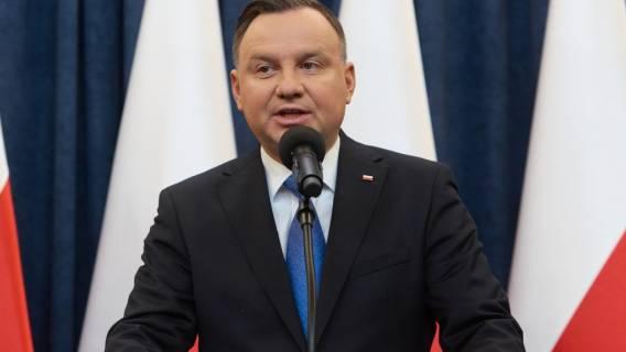Andrzej Duda w Bieszczadach