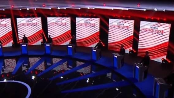 Debata prezydencka była emocjonująca.