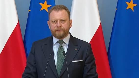 Łukasz Szumowski przekazał wieści