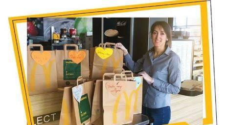 McDonald's - posiłki dla służby zdrowia