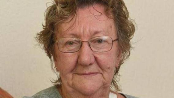 Napad starsza kobieta
