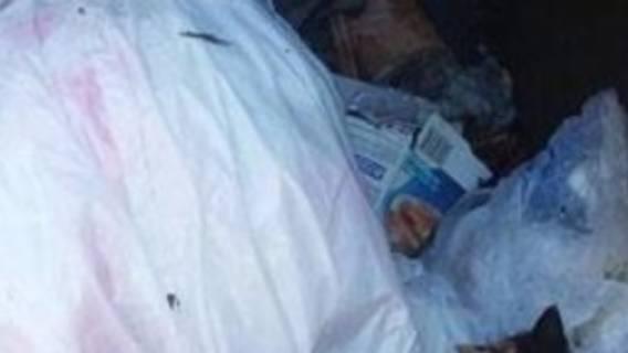 Odbiór śmieci, straszne znalezisko