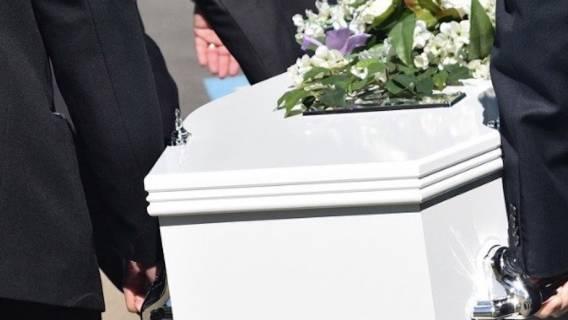 Nagranie z pogrzebu szokuje