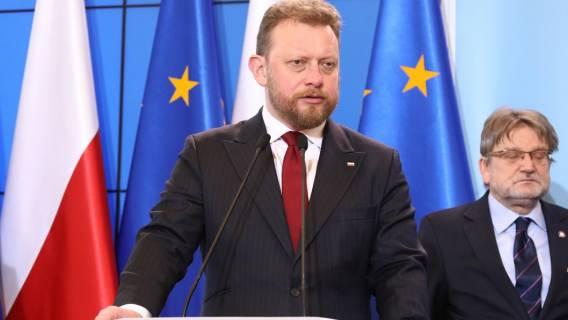 Praca ministra Szumowskiego