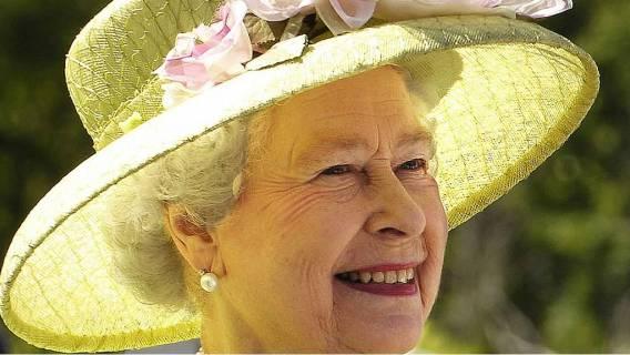 Rodzina królewska królowa Elżbieta