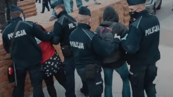 Strajk przedsiębiorców, interwencja policji
