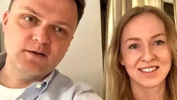 Szymon Hołownia żona